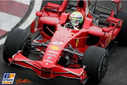 Felipe Massa em um dos treinos do Gp do canadá de 2008